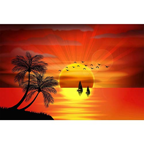 (DIY 5D Diamond Painting Sunset by Number Kits,Painting Cross Stitch Full Drill Crystal Rhinestone Embroidery from Pengy )