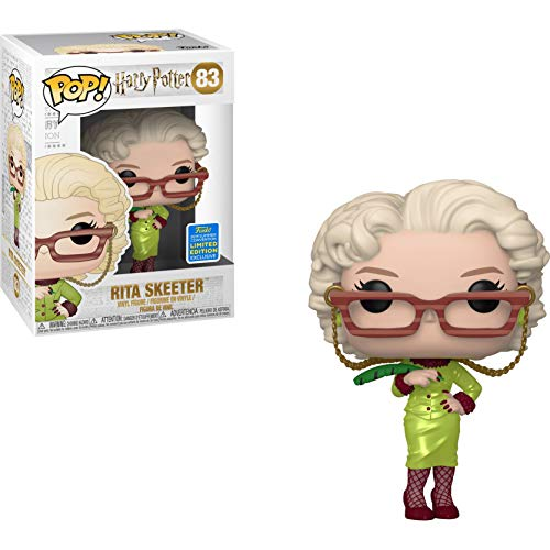 Funko Rita Skeeter (2019 Summer Con Exc) Pop Vinyl Figure & 1 Compatible Graphic Protector Bundle (41504 - B) (Best Summer Anime 2019)