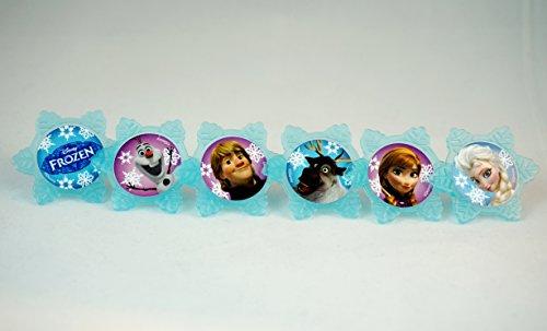 DecoPac Frozen Adventure Friends Cupcake Rings (12 Count) -