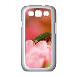 Samsung Galaxy S3 Cases Green Bug, Samsung Galaxy S3 Cases Bug Protective for Girls, [White]