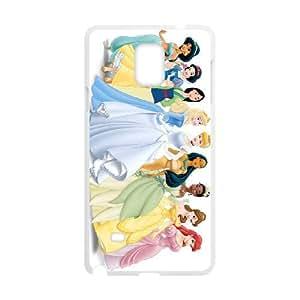 disney princess Samsung Galaxy Note 4 Cell Phone Case White 53Go-207351