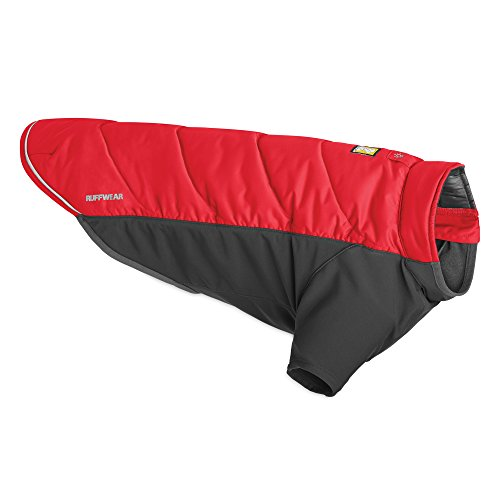 Picture of Ruffwear - Powder Hound (Hybrid Insulation Jacket), Red Currant, Small