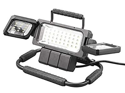 Winplus LM55812-6/1 LED Folding Work Light, Black