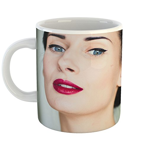 Westlake Art - Coffee Cup Mug - Lip Eyebrow - Modern Picture Photography Artwork Home Office Birthday Gift - 11oz (*9m-816-23d)
