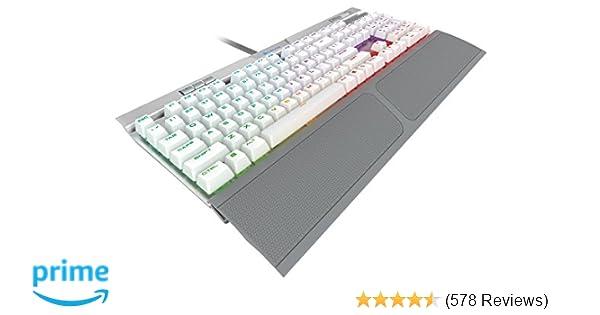 a7d831c2697 CORSAIR K70 RGB MK.2 SE Mechanical RAPIDFIRE Gaming Keyboard - USB  Passthrough & Media Controls - PBT Double-Shot Keycaps - Cherry MX Speed -  RGB LED ...