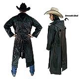 American Cowboy Saddle Slicker Rain Coat Duster