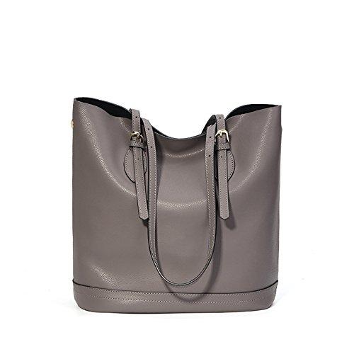_ Guangming77 Handbag Lady Bag Spoon, Black Gray