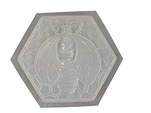 (Bumble Bee Stepping Stone Concrete Plaster Mold 1060)