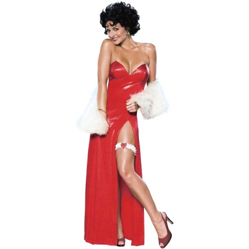 [Betty Boop Starlet Costume - Medium - Dress Size 10-12] (Betty Boop Plus Size Costumes)