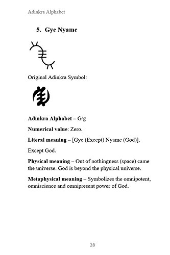Adinkra Alphabet Second Edition The Adinkra Symbols As Alphabets