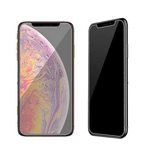 Ailun Privacy Screen Protector Compatible with iPhone 11 Pro Max/iPhone Xs Max 6.5 Inch 2 Pack Anti Spy Tempered Glass Anti Scratch Case Friendly