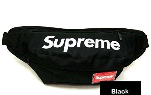 Supreme CAMO Fanny Pack/Waist Bag (Black)