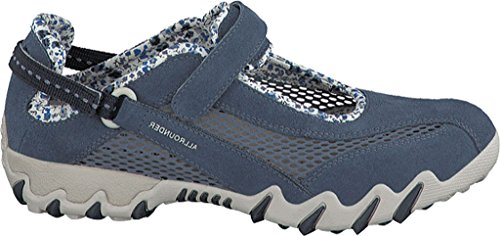 Allrounder by Mephisto Women's NIRO Teal Suede/Open Mesh
