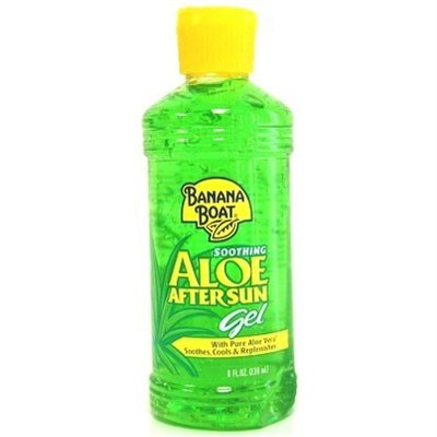Banana Boat Aloe After Sun Gel 8 Ounce (235ml) (2 Pack) (Banana Boat Moisturizing Aloe After Sun Lotion)