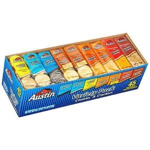 Austin-Cookies & Crackers Variety Pack - 45 ct (2 Pakc) - Total 90 Ct. by Austin