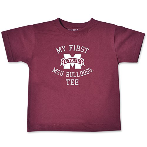 (College Kids NCAA Mississippi State Bulldogs Infant Short Sleeve Tee, 18 Months, Maroon)