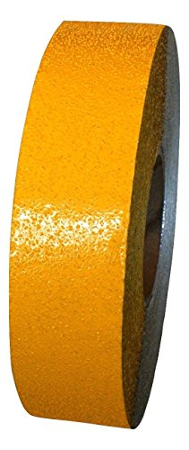 ifloortape Yellow Reflective Foil Pavement Marking Tape Conforms to Asphalt Concrete Surface 2 Inch x 150 Foot ()