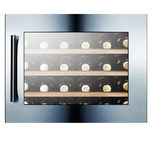 Summit VC28S Fully Integrated Wine Cellar, Glass by Summit (Image #2)