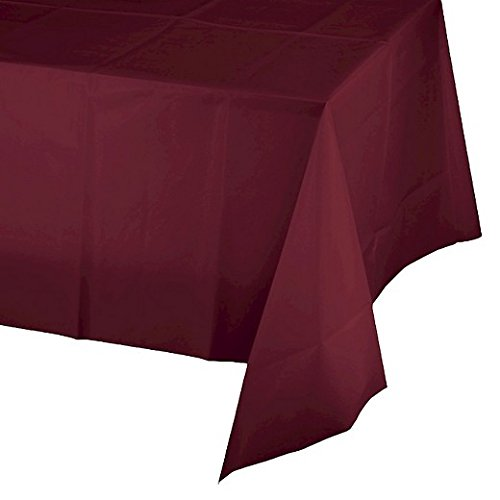 (Mountclear 6-Pack Disposable Plastic Tablecloths 54