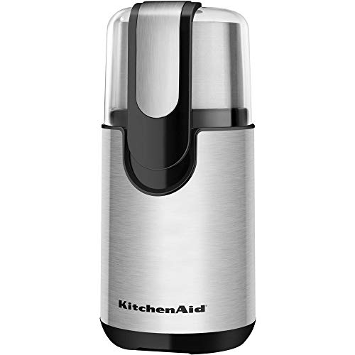 KitchenAid BCG111OB Blade Coffee Grinder - Onyx Black (Best Coffee Grinder Under 500)