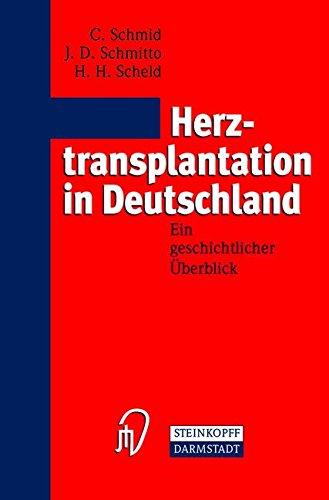 Herztransplantation in Deutschland. Ein geschichtlicher Überblick