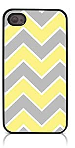 HeartCase Hard Case for Iphone 4 4G 4S (Chevron Pattern )