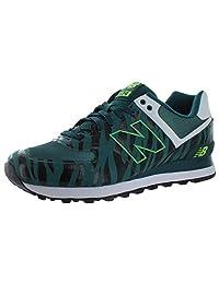 New Balance 574 Tiger Stripe Men's Shoes ML574ALW Green Size 9.5