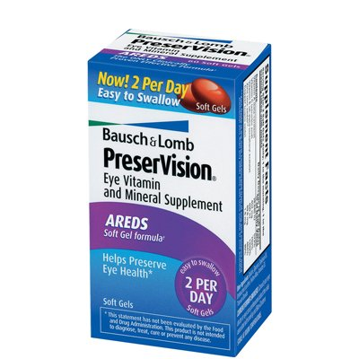Bausch and Lomb PreserVision AREDS Formula Eye Vitamins - 150 Softgels