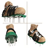 Goforbe Lawn Aerator Shoes, 4 Adjustable Straps