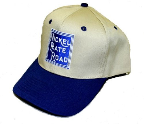 Daylight Sales Nickel Plate Road Embroidered Hat [hat54] Black