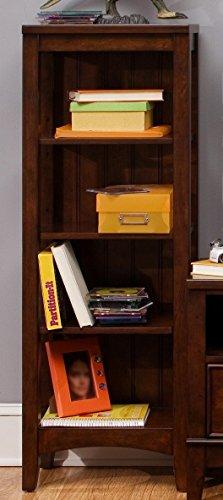 Liberty Furniture 628-BR201 Chelsea Square Student Bookcase, 18