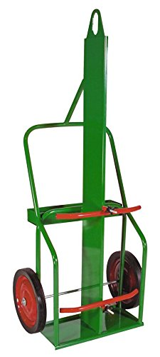 Sumner 782441 209-14SB-L Double Cylinder Cart, Medium Range, High Rail with Lifting Eye and Divider Wall, 14