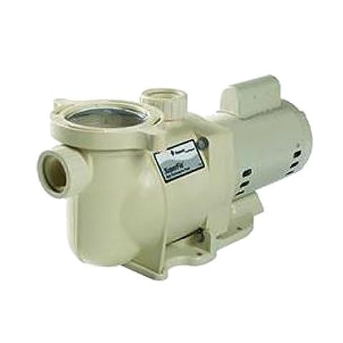 Pentair 340044 2HP 230V 2-Speed SuperFlo High Performance Energy Efficient Pump - Pentair Superflo Pool Pump