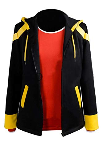 mingL Casual Mystic Messenger 707 Extreme Saeyoung Choi Cosplay Costume Jacket Shirt Suit (Female:X-Large) ()