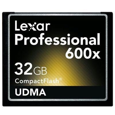 UPC 650590158287, Lexar 32GB Professional 600x CompactFlash Card