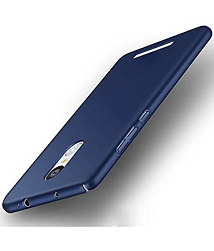 promo code 7ec24 c4844 MOBIKTC™Back Cover for Lenovo K6 Note 4 Cut All Sides 360 Degree Protection  Sleek Blue Hard Case Back Cover Blue