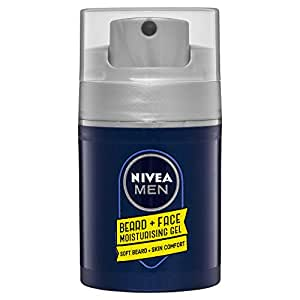 NIVEA MEN Beard & Face Moisturising Gel Formulated with Chamomile & Hamamelis 50ml