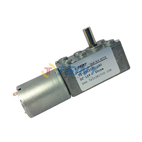 Electric 12vdc reversible 45 rpm dc gear motor for diy for Electric motor rebuild shop near me