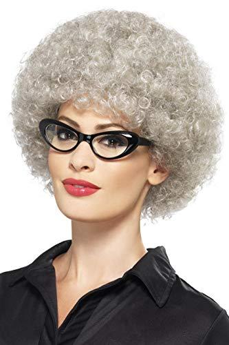 Smiffys Women's Granny Perm Wig, Grey, One Size]()