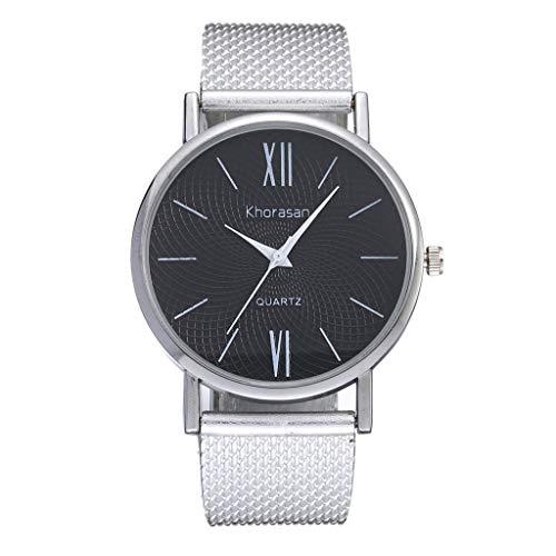 - LUXISDE Watch Women Men's Plastic Strap Quartz Watch Simple Roman Scale Watch Ladies Watch J