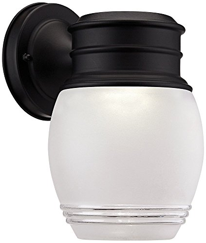 Barclay 8 3/4'' High LED Black Outdoor Wall Light by Designers Fountain