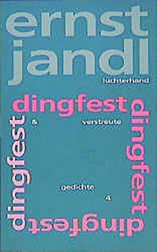 Poetische Werke, 10 Bde, Bd.5, Dingfest