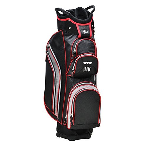 rj-sports-knight-cart-bag-red