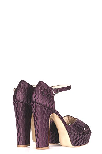 Donne Strategia Stpe4967 Sandali Tela Bordeaux