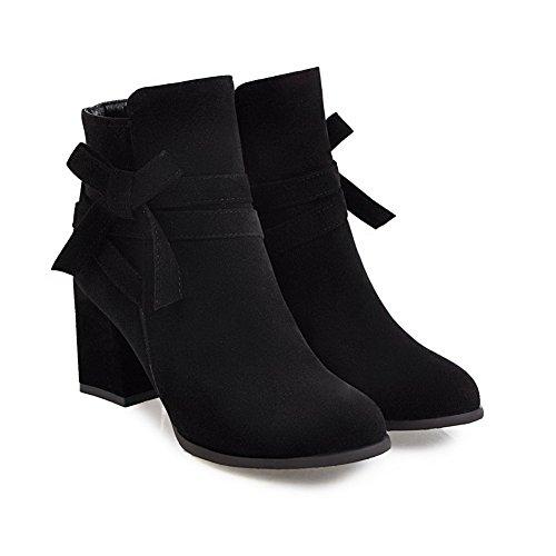 BalaMasa Abl10665, Sandales Compensées Femme Noir