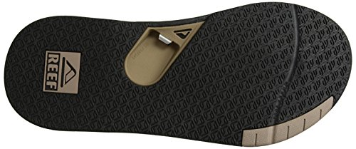 Reef Herren Fanning Low Black/Tan Zehentrenner Mehrfarbig (Black/Tan Bta)