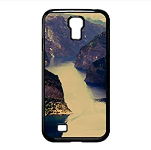 Wonderful Fjord Watercolor style Cover Samsung Galaxy S4 I9500 Case (Rivers Watercolor style Cover Samsung Galaxy S4 I9500 Case)