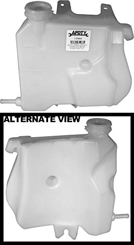 APDTY 133804 Coolant Overflow Plastic Bottle Reservoir W/O Cap Fits 05-09 Buick Allure Or Lacrosse, 04-11 Chevy Impala Or Monte Carlo, & 04-08 Pontiac Grand Prix (3.8 V6 Only) (Replaces 25924048)