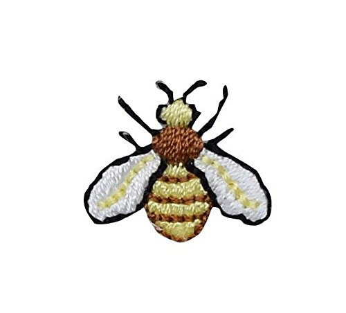 Small/Mini - Bee/Hornet - Iron on Applique/Embroidered Patch ()