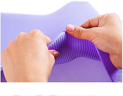 Outdoor sport houlian shop Tapis De Yoga De Première Classe TPE Violet 183 * 80 * 0.6 Tapis De Yoga Débutant Épaississant Tapis De Fitness Anti-dérapant